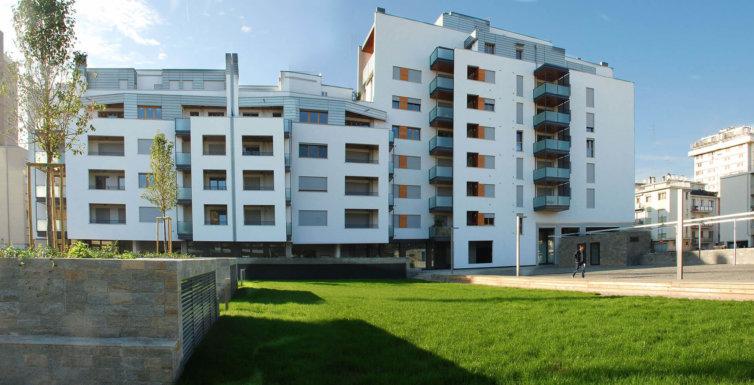 Progetto Residence Canova