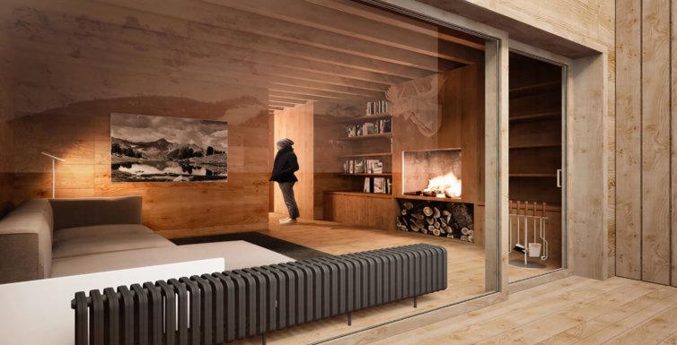 Progetto Casa Gianin – Zoldo