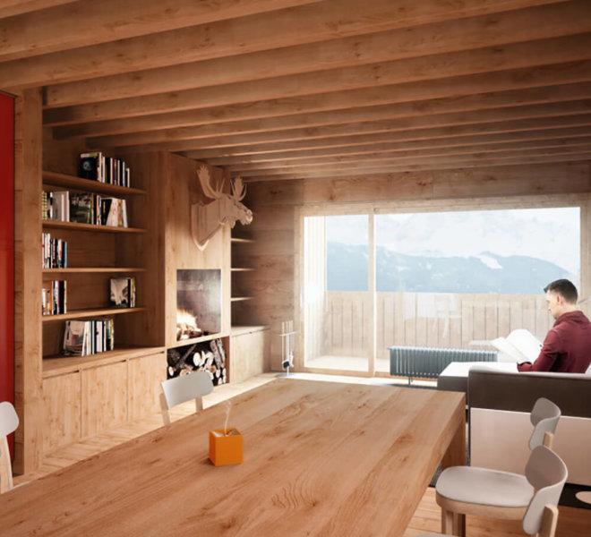 progetto casa gianin zoldo Andrea Rigato_2