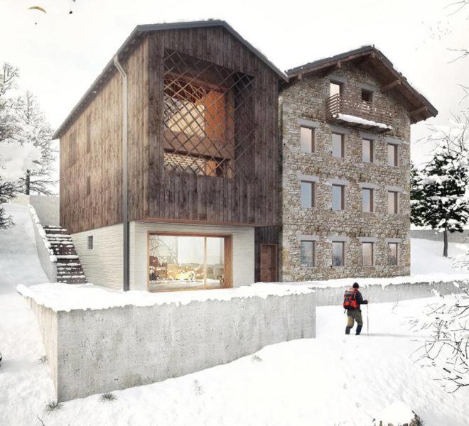 progetto casa gianin zoldo Andrea Rigato_5
