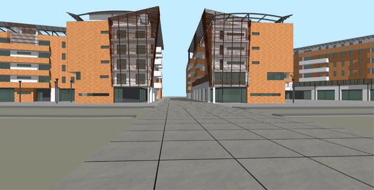 Progetto Complesso residenziale Mestre (VE)
