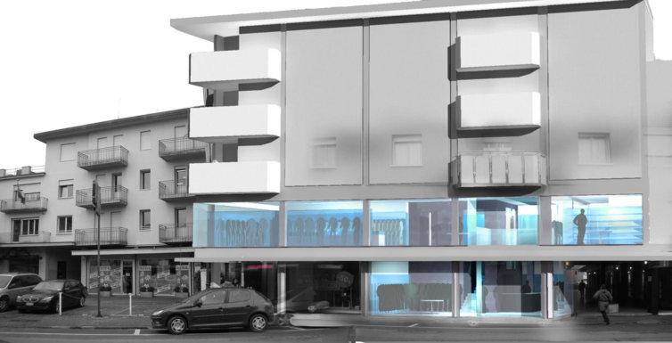 Progetto Negozio abbigliamento Montebelluna (TV)