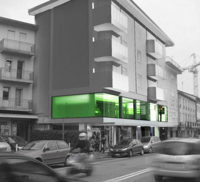 progetto negozio abbigliamento montebelluna Andrea Rigato_1
