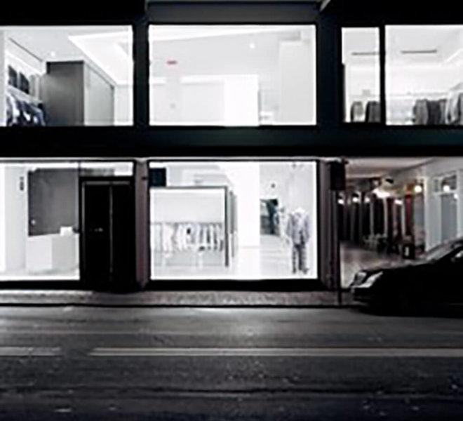 progetto negozio abbigliamento montebelluna Andrea Rigato_2