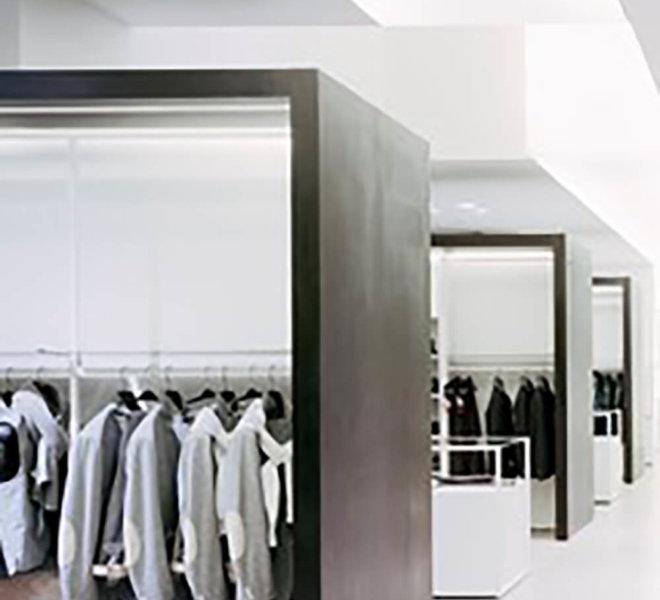 progetto negozio abbigliamento montebelluna Andrea Rigato_3