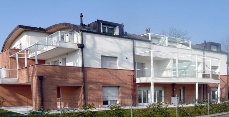 Progetto Edificio residenziale Treviso
